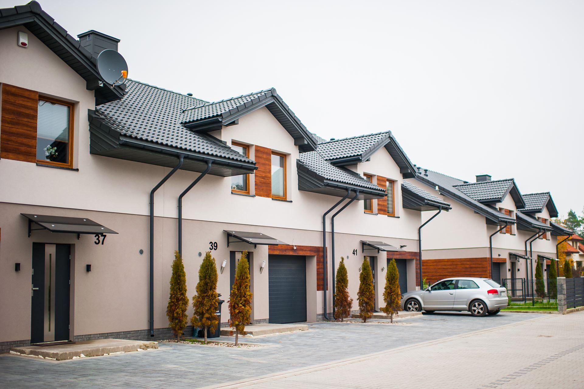 Domy szeregowe Porosły